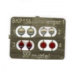SKP 158 LENSES AND TAILIGHTS FOR CHALLENGER 1
