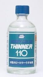 Mr. Aqueous Hobby Color Thinner 110ml    (Higító )