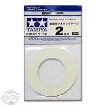 Masking Tape for Curves 2mm  (maszkoló szalag)