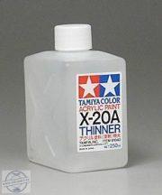 Tamiya 81040 Acrylic Thinners 250 ml.