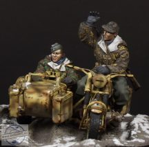 German Motorcycle Crew - 1/35