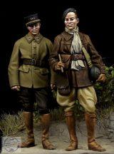 French Tank Crewman & French NCO WW II - 1/35
