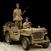 British Driver & Tommy Western Desert WW II - 1/35
