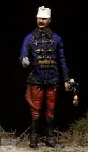 Austro-Hungarian Hussar Officer WW I - 1/35