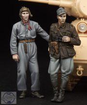 Finnish Tank crew WW II - 1/35