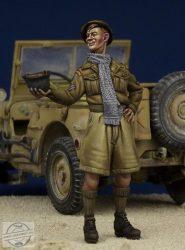 Sivatagi Patkány - Brit Katona II.vh - 1/35