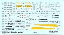 """Mi-24 Hind """"D+V"""" stencils"""