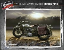 US Military Motorcycle Indian 741B - 1/35 - 2 db jármű!