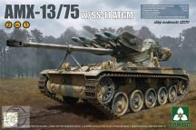 French Light Tank AMX-13/75 with SS-11 ATGM 2 in 1