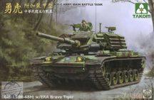 R.O.C.Army Cm-11 (M-48H) W/Era Brave Tiger Mbt