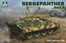 Bergepanther Ausf.D Umbau Seibert 1945 production with full Interior - 1/35