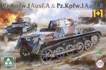 KÉT MAKETT EGY DOBOZBAN!!!   Pz.Kpfw.I Ausf.A & Pz.Kpfw.I Ausf.B - 1/35