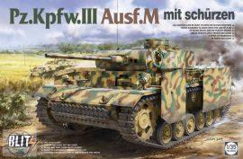 Pz.Kpfw.III Ausf.M mit Schürzen - 1/35
