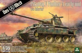 Panther Ausf.A early / mid Version - 1/35 (Takom)
