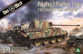 Panther Ausf.A late (2 in 1) - 1/35 (Takom)