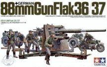 German 88 mm Gun Flak36/37 - 1/35