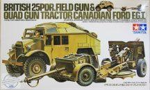 25PDR Field Gun & Quad Gun Tractor - 1/35
