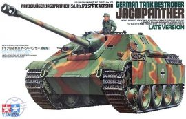 German Tank Destroyer JAGDPANTHER Late version - 1/35
