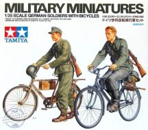 German soldiers with bicycles - 1/35
