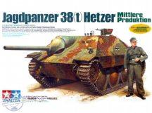 Jagdpanzer 38(t) Hetzer - Mittlere Produktion - 1/35