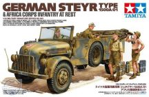 Steyer 1500A/01&Afrika Inf.Rest - 1/35
