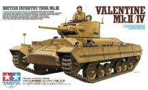 British Infantry Tank Mk.III Valentine Mk.II/IV - 2 figures - 1/35