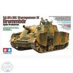 Sd.Kfz.166 Sturmpanzer IV Brummbär, Späte Production - 1/35