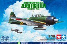Mitsubishi A6M3/3a Zero Fighter Model 22 (Zeke) - 1/72