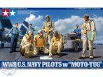 WWII U.S. Navy Pilots w/Tug - 1/48