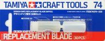 Design Knife Replacement Blade - 30 pcs (30 db-os penge készlet)