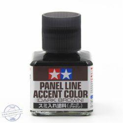 Panel line wash - Dark Brown - 40 ml.