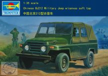 Chinese Bj212 Military Jeep Soft Top - 1/35