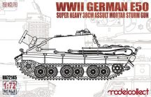 WWII German E-50 super heavy 38cm assult mortar sturm - 1/72