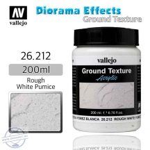 Ground Texture Rough White Pumice