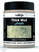 Light Brown Mud  - sár