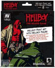 Hellboy The Board Game - 45 mm-es figura + 8 x 17 ml festék + SBS útmutató