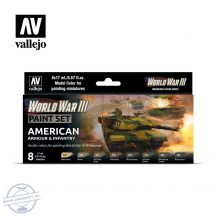 World War III - American Armour & Infantry - 8 x 17 ml