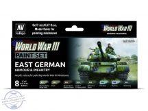 WW III East German Armour and Infantry - 8 x 17 ml
