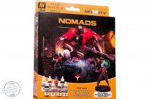 Nomads - 8 x 17 ml + 28 mm-es fém figura