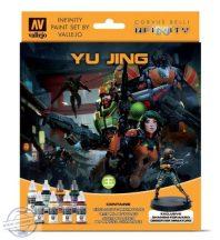 Yu Jing - 8 x 17 ml + 28 mm-es exkluzív fém figura