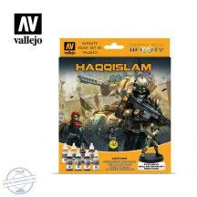 Haqqislam - 8 x 17 ml + 28 mm-es exkluzív fém figura