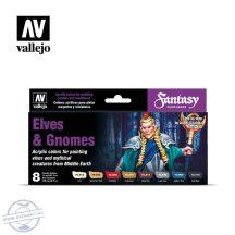 Elves & Gnomes  - 8 x 17 ml.