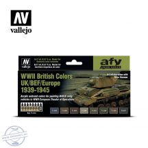 WWII British Colors UK/BEF/Europe 1939-1945