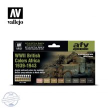WWII British Colors Africa 1939-1943