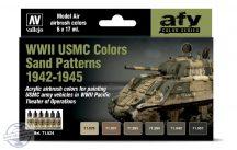 WWII USMC Colors Sand Patterns 1942-1945 - 6 x 17 ml
