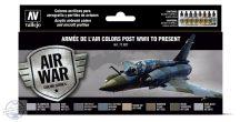 Armée de l'Air colors post WWII to present - 8 x 17 ml