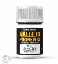 Titanium White - pigmentpor, 35 ml.
