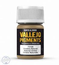 Natural Umber - pigmentpor, 35 ml.
