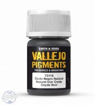 Natural Iron Oxide - pigmentpor, 35 ml.