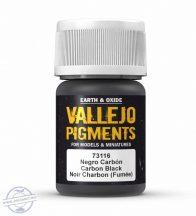 Carbon Black (Smoke Black) - pigmentpor, 35 ml.